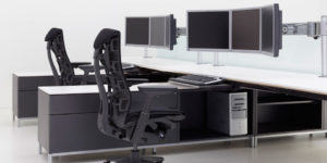 Components of An Ergonomic Computer Station
